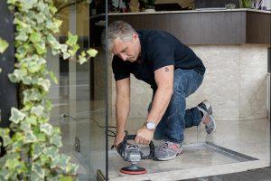 Merbeck Gebäudereinigung - Steinbodensanierung