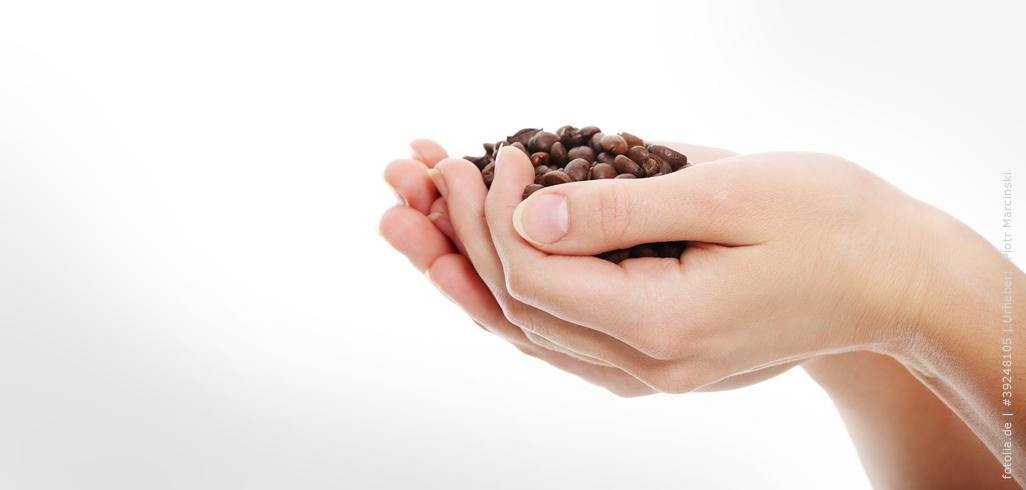 Kaffeebohnen neutralisieren Gerüche