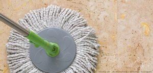 Steinboden reinigen