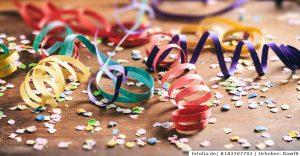Karnevals-Party - hinterher muss einer sauber machen!