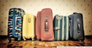 So wird der Koffer wieder sauber.
