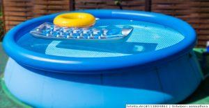 Wie kann man Pool und Planschbecken sauber halten?