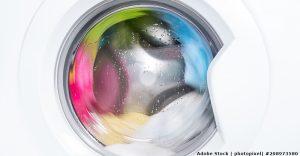 Wie kann ich den Putzlappen waschen?