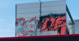 Graffiti entfernen mit Sandstrahlen