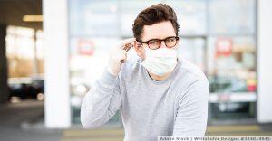 Atemschutzmaske reinigen