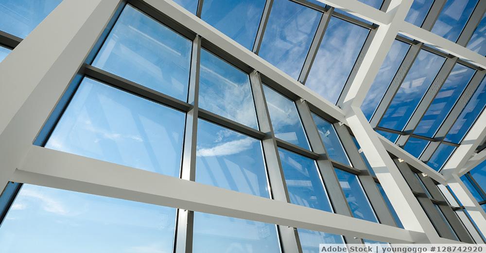 Saubere Glasflächen dank Osmose-Reinigung